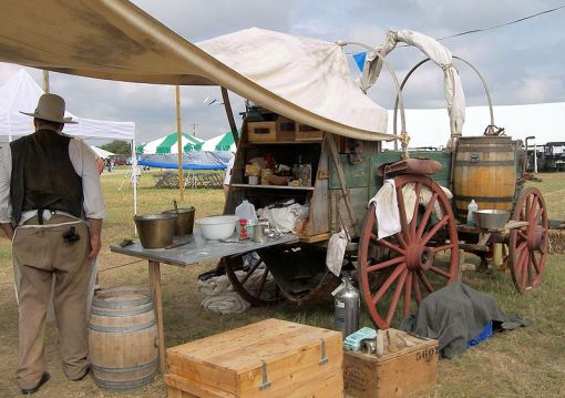 Cowboy-Style Chuck Wagon