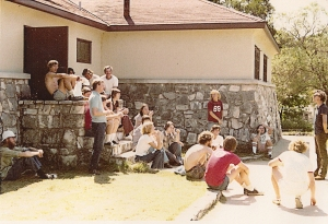 Presbyterian University Students at Mo Ranch, 1974